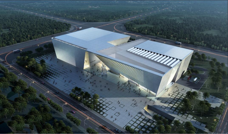 郑州市民公共文化服务区郑州美术馆新馆及郑州档案史志馆项目