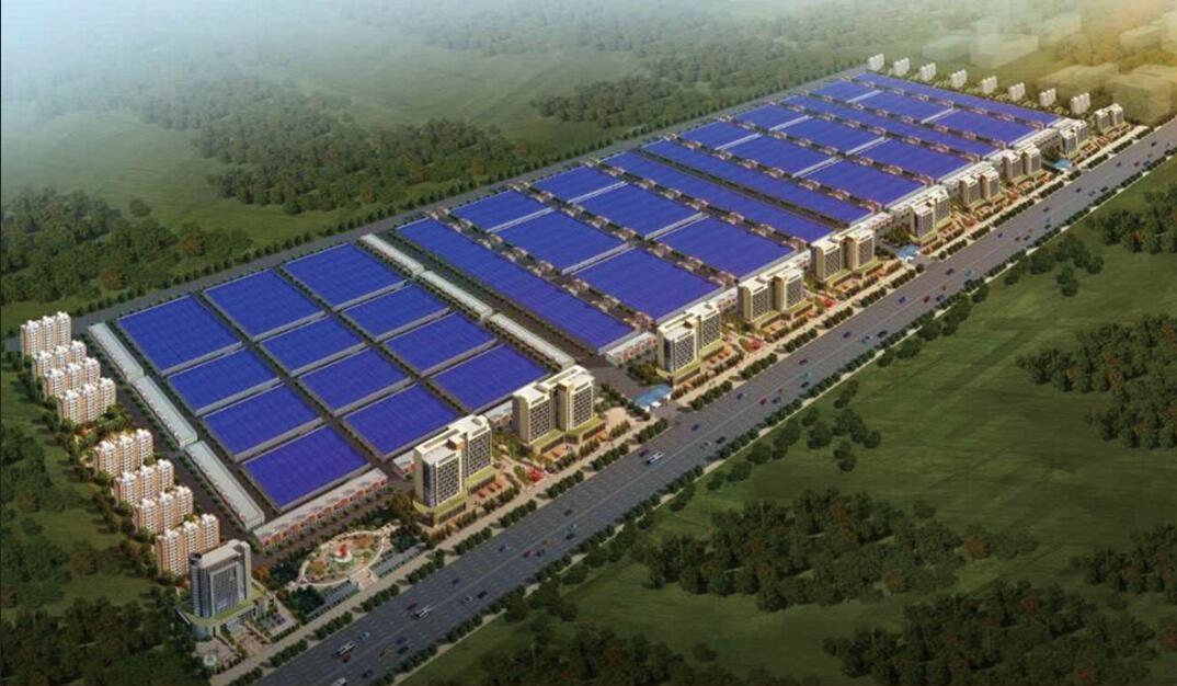 河南金盛达国际绿色建材产业园(一期)