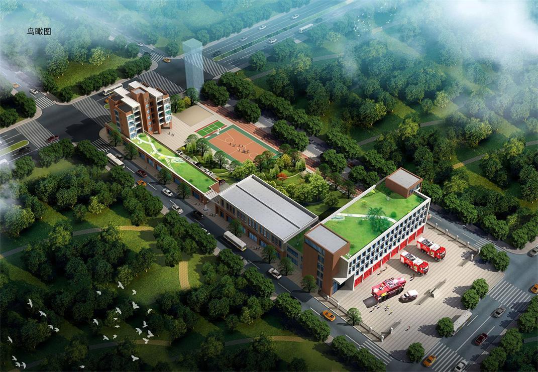 郑州市消防支队培训基地宿舍楼