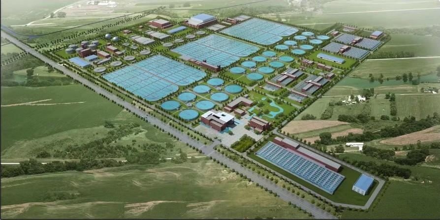 郑州新区污水处理厂二期米乐网电脑版下载水处理区监理