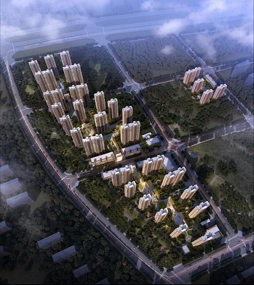 郑州市中原新区三十里铺安置区北块