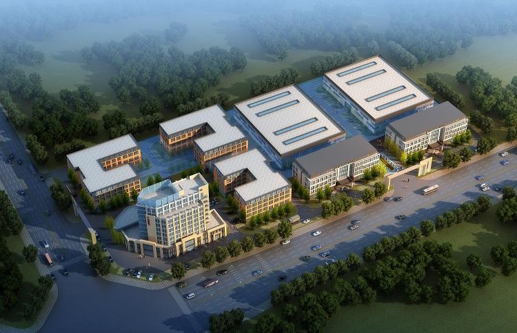 郑州千兆美年产800万卷键合材料工业厂房